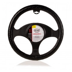 steering WHEEL COVER black