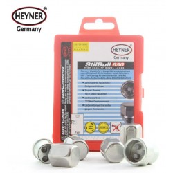 SET OF 4 WHEEL LOCKING NUTS &  KEY