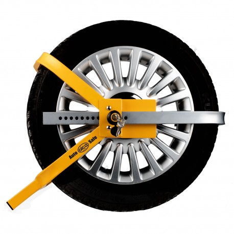 Car wheel clamp extendable M