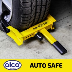 Car wheel clamp extendable