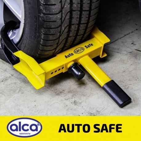 Car wheel clamp extendable